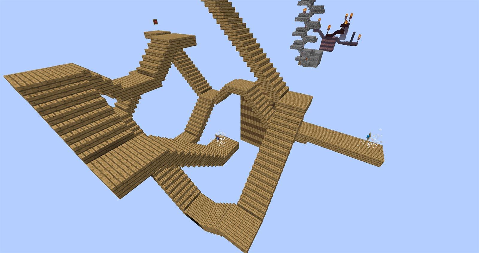 Schody Minecraftmapy Pl